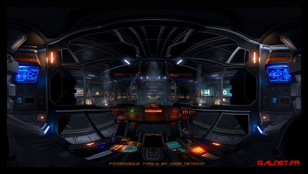 T6 panoramique Elite Dangerous by NetRoXx