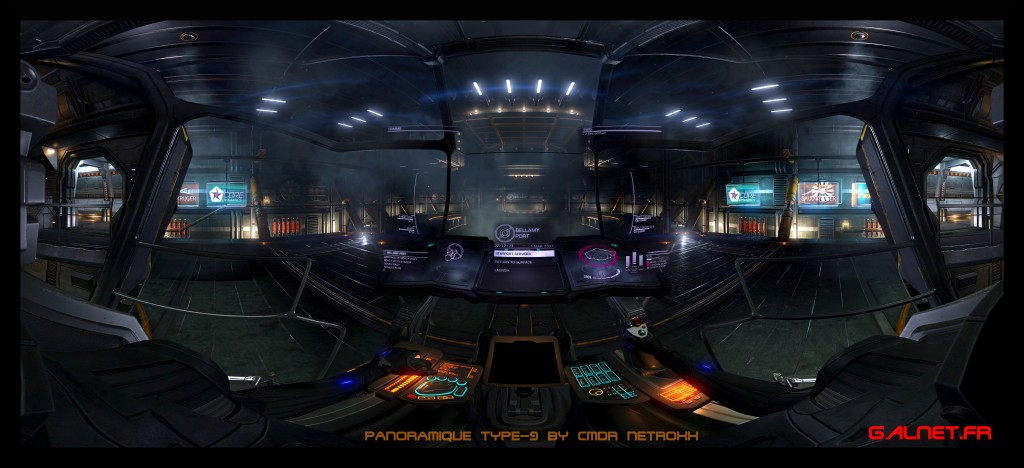 T9 panoramique Elite Dangerous by NetRoXx