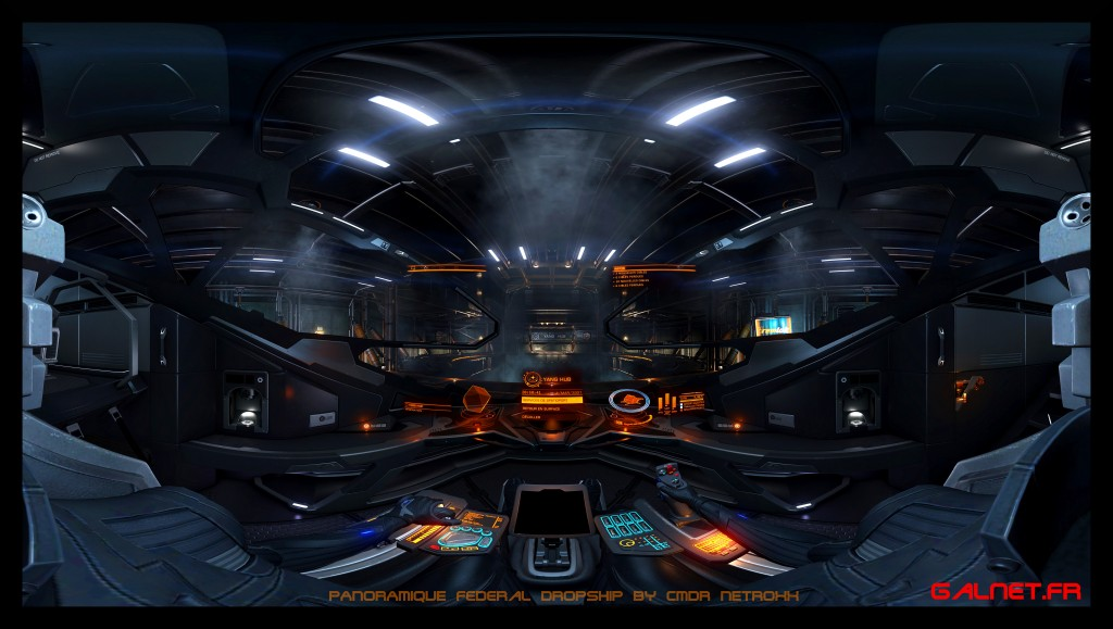 Federal Dropship Elite Dangerous by NetRoXx