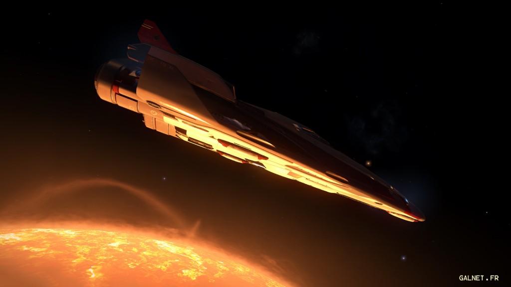 Fer de lance – Sortie dans l'espace