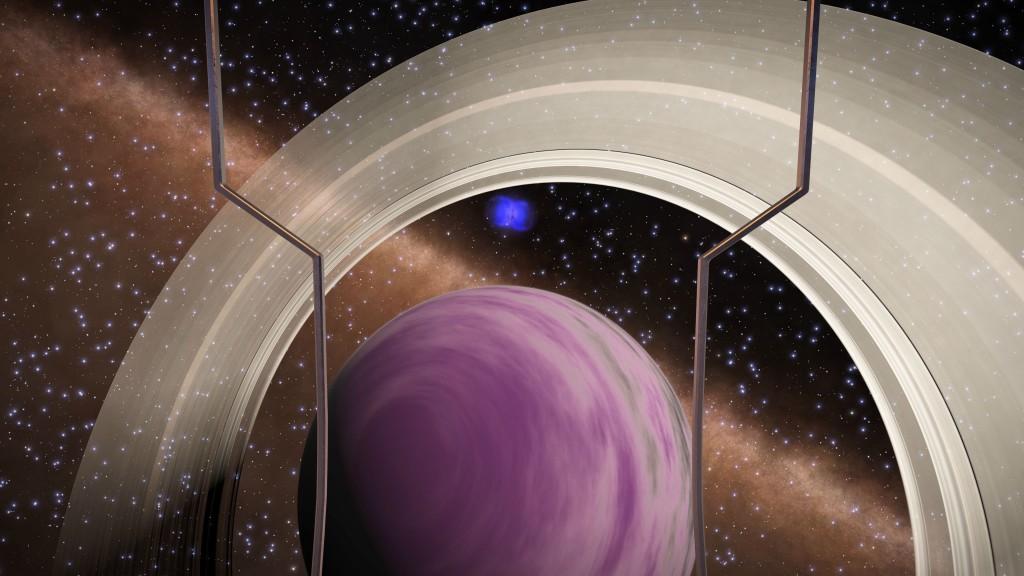 La nébuleuse planétaire EOK PRUAE ZZ-Y E6516