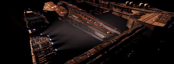 Farragut au dock