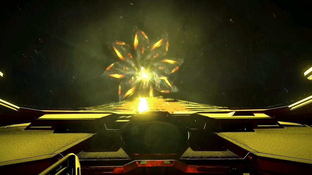 Rencontre éclaireur Thargoid / First contact